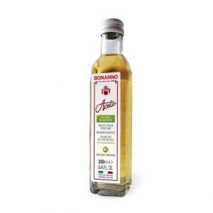 Aceto di vino bianco 250ml bonanno