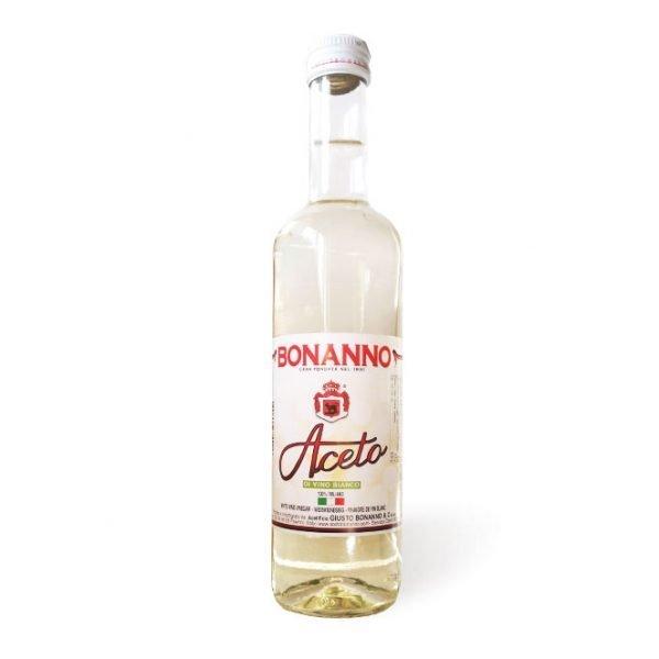 aceto di vino bianco 500ml bonanno