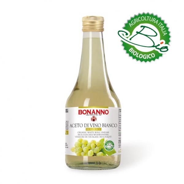 Organic White Wine Vinegar 500ml Bonanno