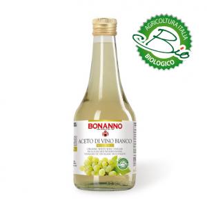 Aceto di vino Bianco Biologico 500ml Bonanno