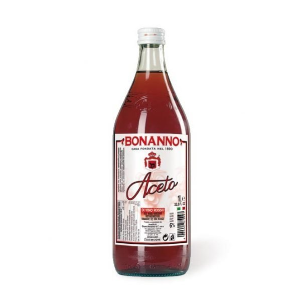 Red wine vinegar 33,8oz Bonanno