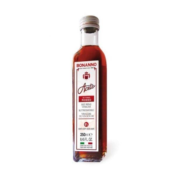 Red wine vinegar 8,45oz Bonanno