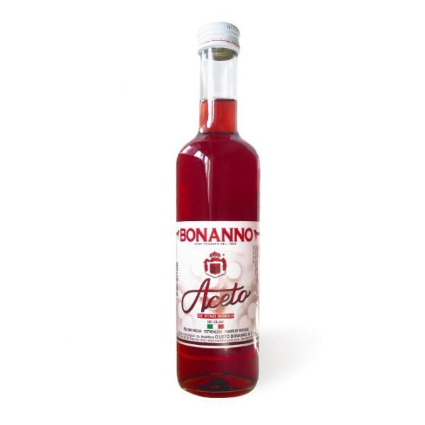 Red wine vinegar 16,9oz Bonanno