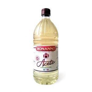 aceto di vino bianco 1lt PET Bonanno