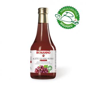 Aceto di vino rosso Biologico 500ml bonanno