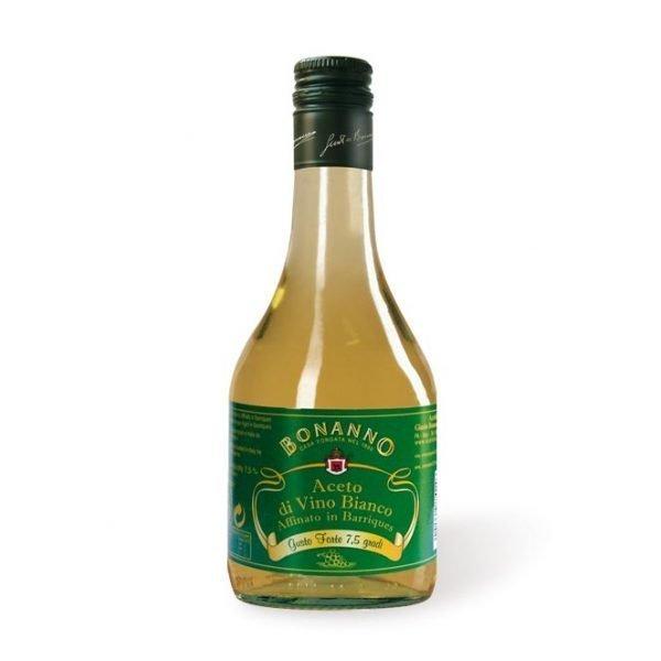 Barrel aged White Wine Vinegar bonanno oz. 19,6