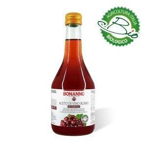 aceto di vino rosso bio 500ml